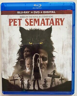Pet Sematary 2019 Blu Ray 1 Disc Only Free World Wide Shipping Buy It Now Horror