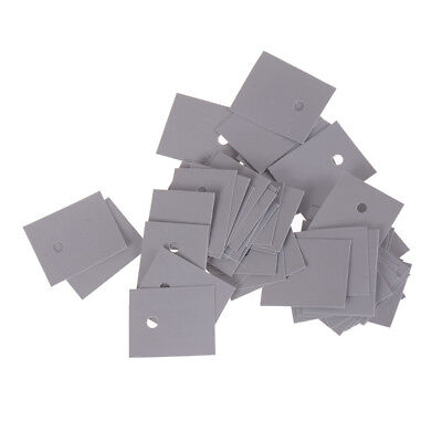50pcs TO-247 Transistor Silicone Insulator Insulation Sheet 20*25mmSW