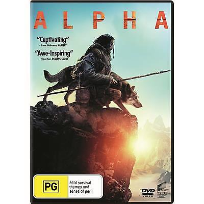 Alpha Dvd, New & Sealed, 2019 Release, Free Post