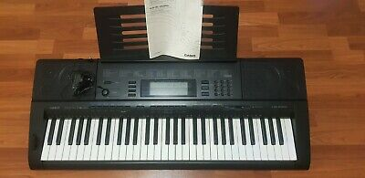 CASIO CTK 5000 61 Touch Responsive Keys Digital Keyboard with Note Stand&Adaptor