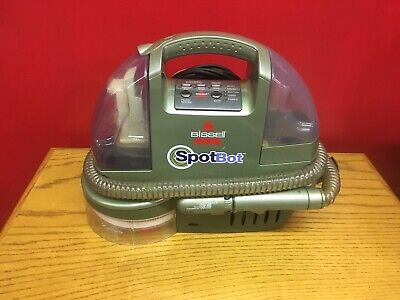BISSELL Spotbot Pet Microban 1200- B Portable Stain Remover Carpet Cleaner WORKS