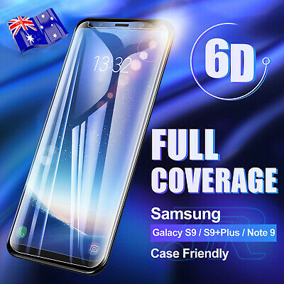 For Samsung Galaxy S10 S9 S8 Plus S10e Note 9 8 Tempered Glass Screen Protector