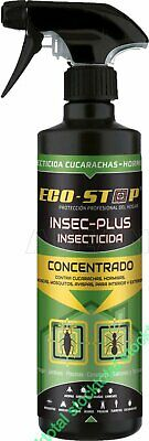 Insecticida hormigas y cucarachas Insec-Plus spray 500 ml	268038