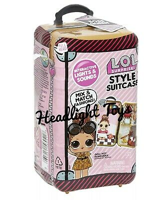 1 LOL Surprise Style Suitcase BOSS QUEEN Doll Interactive Sound Fashion In Hand