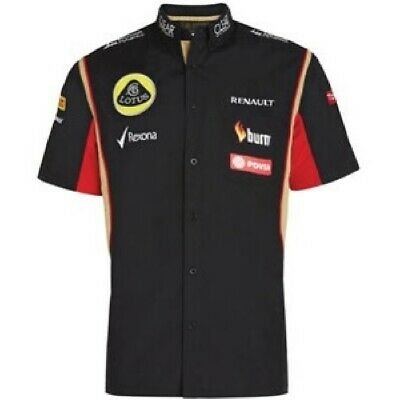 SHIRT Formula One 1 Lotus F1 Team PDVSA Raceshirt 2014/5 US