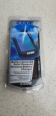 Exide Solar Powered  Aa  Personal Battery Charger Brand New