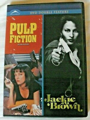 Pulp Fiction / Jackie Brown (DVD Double Feature) Quentin Tarantino