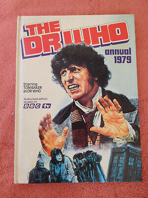 DR WHO ANNUAL 1979 Good Condition, unclipped, unmarked, good spine, good colour