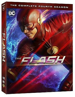The Flash Season 4 UK DVD Brand New Sealed Fast & Free Postage
