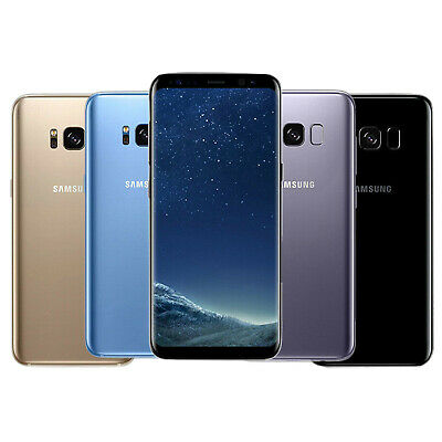 Samsung Galaxy S8 SM-G950 64GB Unlocked 5.8 In 4G LTE Various Colours Smartphone