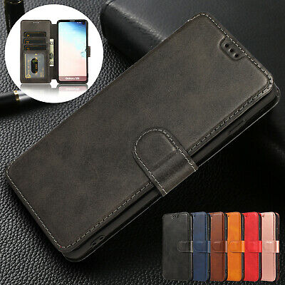 For Samsung Galaxy A30 Case A50 A40 A70 M20 Magnetic Wallet Leather Phone Cover
