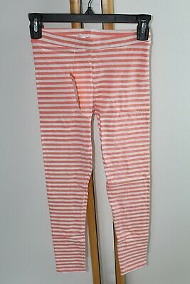 Gymboree Animal Party Girls Size 12 Leggings Striped Peach NEW NWT