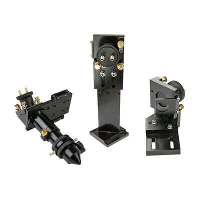 CO2 Laser Head Set 1st 2nd Mirror Mount with Water Cooling Interface 150W Laser