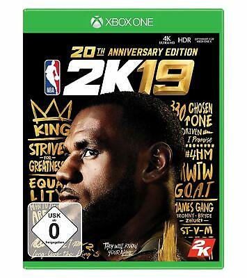 Xbox One Gioco NBA 2K19 20th Anniversary Edition Merce Nuova