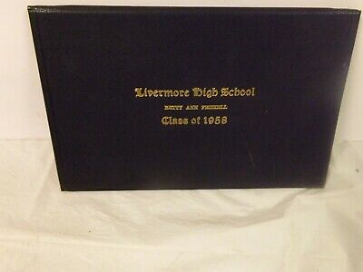 Vintage 1958 Livermore Mclean County Kentucky High School Diploma