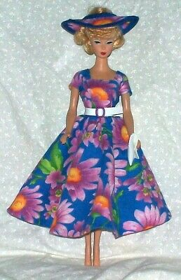 Handmade New For Barbie Clothes Outfit Fits Vintage & Reproduction Dolls 2