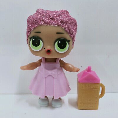 lol doll Big Sister Serie Glitter Pink Hair Pink Dress Kids Birthday Gift Cute