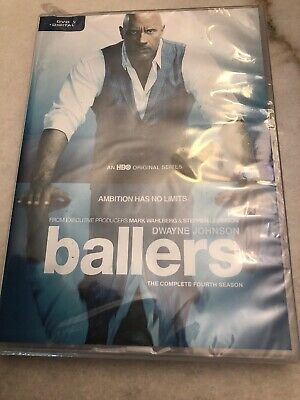 Ballers - The Complete Fourth Season DVD Box Damaged