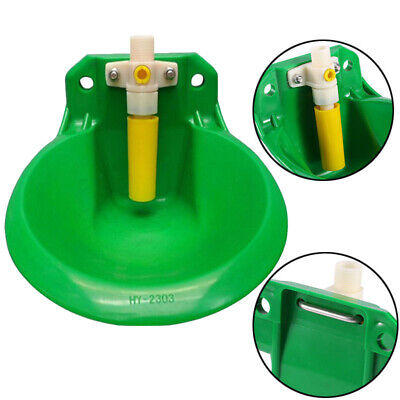 Automatic Plastic Water Bowl Float Valve AUTO Trough For Dog Cattle Goat Sheep