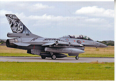 Org Picture:  F-16 B Royal Norwegian  Air Force
