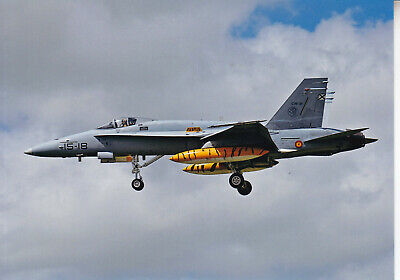 Org  picture:   F-18 Hornet Spanish Air Force