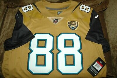 9b9a6a9d ALLEN HURNS JERSEY Jacksonville Jaguars men's large NWT Color Rush throwback
