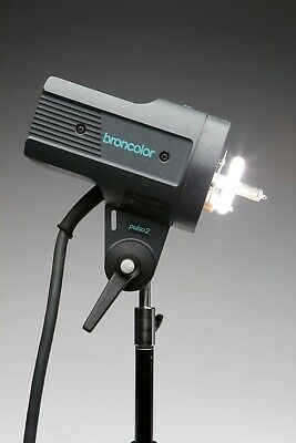 Broncolor Pulso 2 head in great working condition - tube excellent