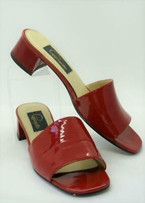 30e3084a6da VTG PAPPAGALLO PUMPS Heels Shoes 40s Style Cordovan Black Wingtip ...