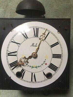 French Grandfather Clock Movement Parts