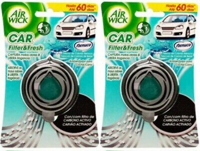 Nenuco  Air Wick  Car Air Freshener X2 New