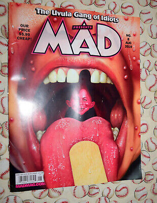 MAD MAGAZINE Issue #8 NEW August 2019 Alfred E Neuman NO LABEL