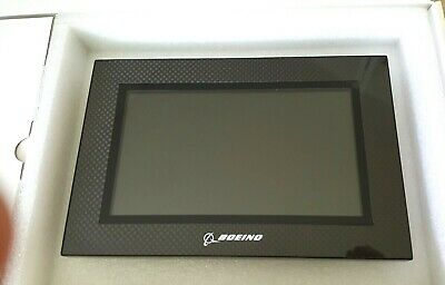 "7"" Boeing Digital Picture Photo Frame Carbon Fiber 480 x 234 Resolution Zoom"