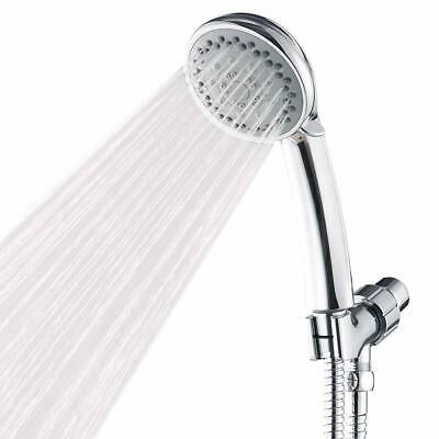 Handheld Shower Head with 5FT Hose High Pressure Spray Head Multifunction Chrome
