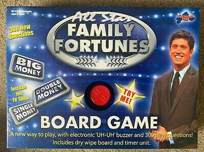 FAMILY FORTUNES GAME : By BRITANNIA GAMES - NEW & FACTORY