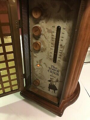 Town Crier By Guild Am/ Fm (Solid State) Radio