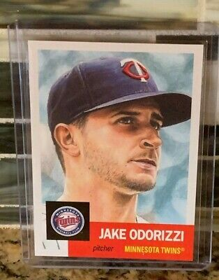 2019 Topps Living #138 Jake Odorizzi *Near Mint/Mint* Minnesota Twins