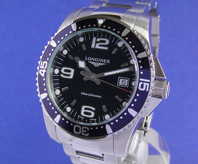 Longines Hydro Conquest Stahl Stahlband Top L3.740.4