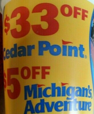 $33 OFF Cedar Point Tickets discount Purchase Up To 6 Tix expires 9/2/19