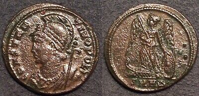 Ancient Roman Coin AE3 Constantine I Heraclea Constantinople Commemorative
