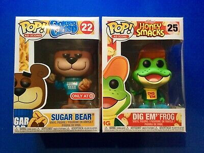 Funko Pop Sugar Bear Target Exclusive Dig Em' Frog Cereal Ad Icons