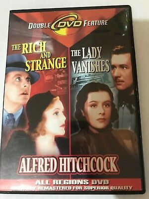 The Rich And Strange / The Lady Vanishes Dvd 2006  All Regions Black And White
