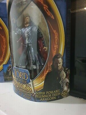 Lord Of The Rings LOTR,Return Of The King Super Poseable Aragorn