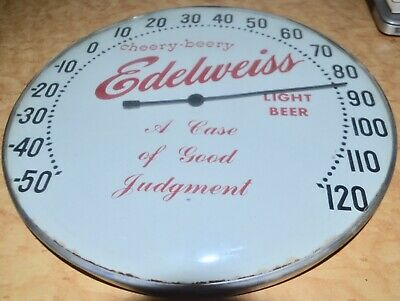"Vintage Edelweiss Thermometer! ""Cheery-Beery"""