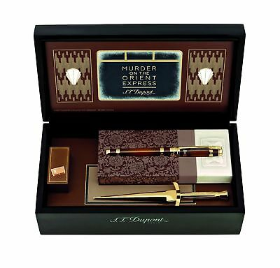 St Dupont Murder On The Orient Express Rollerball Pen Writing Kit Limited 412186