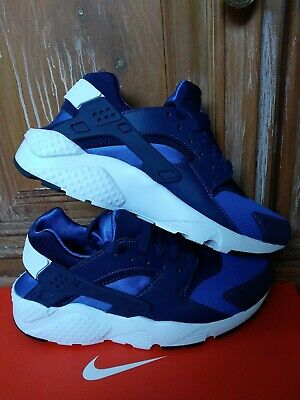 Nike Huarache Run (GS) YOUTH Sneaker Blue Void/White-Game Royal 654275-415 5.5Y
