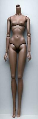 """12/"""" Nu Face 3.0 White Skin Tone Articulated Body with Removable Hands~NIP"""