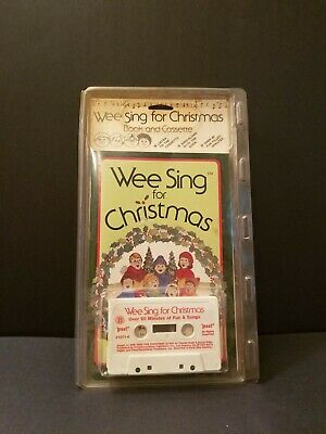 Vintage 1984 Wee Sing for Christmas Book and Cassette