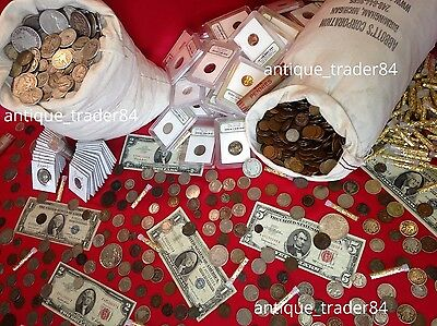 ✯ Estate Lot Sale ✯ Old US Coins ✯ Gold / Silver / Currency / Proof / Ancient ✯