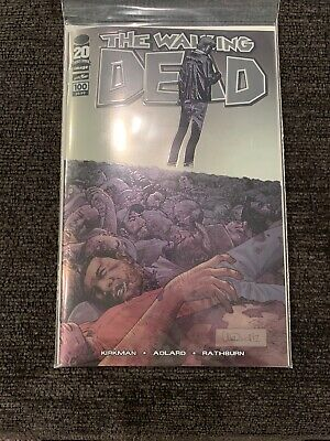 The Walking Dead 100 Chrome Variant Image Comics NM