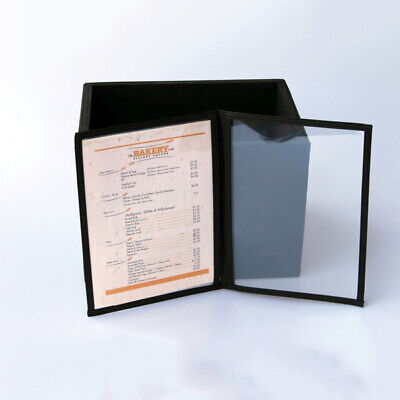 Bulk Pack 20 A5 CAFE MENU FOLDERS WITH 2 PAGES bonus storage box